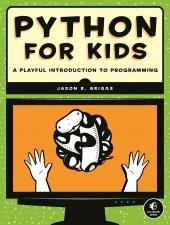 Python for Kids book cover